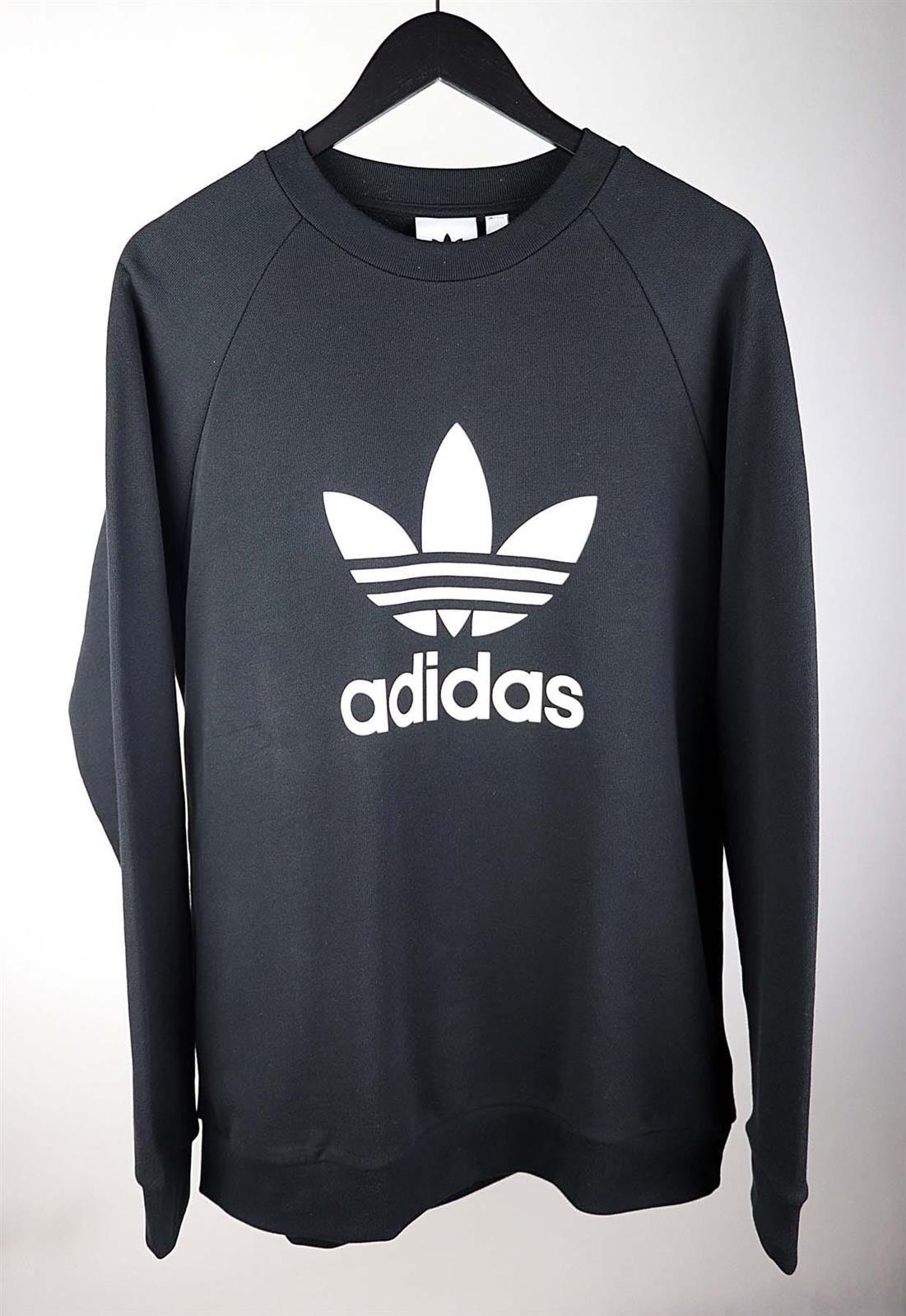 Bluza Adidas Originals Czarna Trefoil Crew