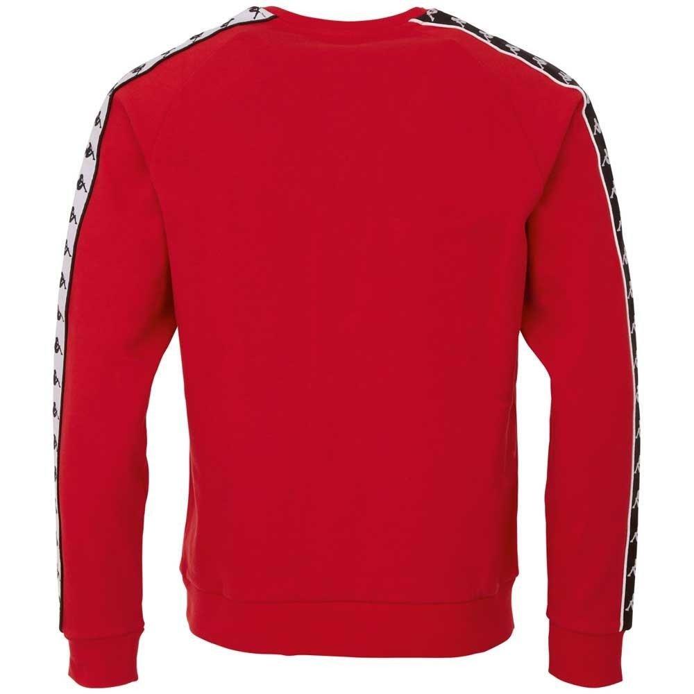bluza kappa czerwona bez kaptura
