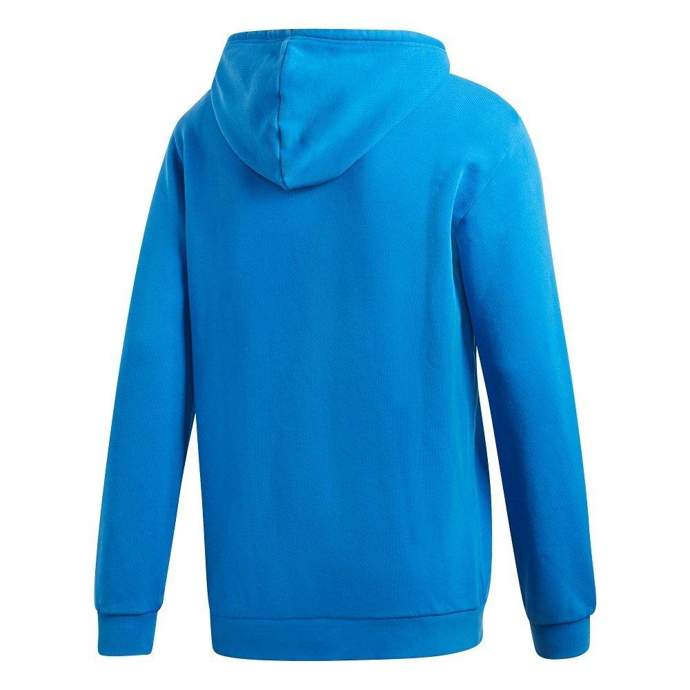 adidas trefoil niebieska damska bluza