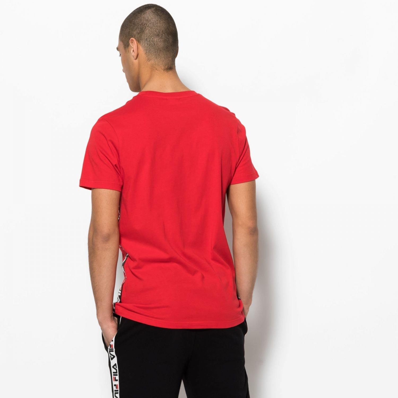T shirt FILA Talan Tee Czerwony